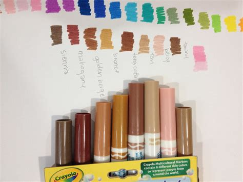 crayola skin color nattosoup studio and process waterbased marker