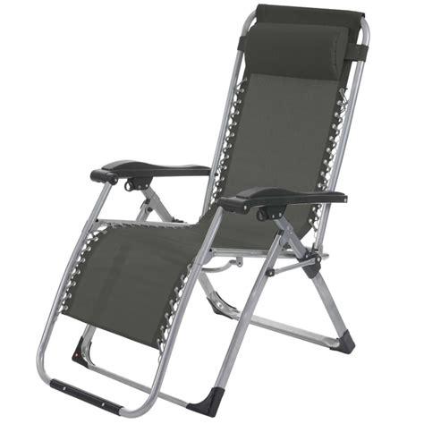 chaise transat transat bain de soleil chaise longue jardin pliable gris