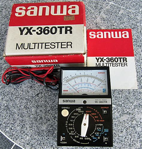 Multitester Analog Samwa Yx 360tr analog multimeter ตอน 6