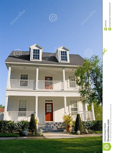 two story house with balcony two story houses with front two story with balconies stock photo image of exterior