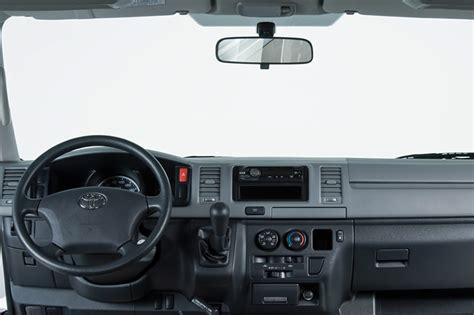 Interior Toyota Hiace by