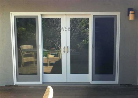 andersson 8 sliding glass door 4 panel sliding patio doors