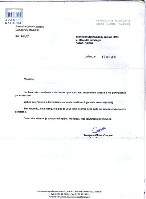 Exemple Lettre De Procuration Tribunal Exemple De Procuration Administrative