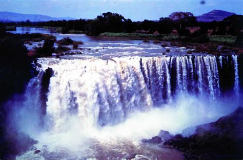 blue nile waterfalls ethiopia african traveling news