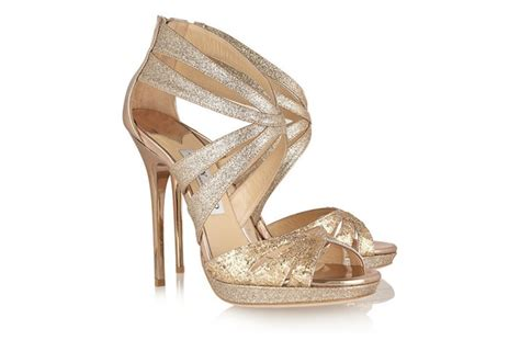 gold wedding shoes funky wedding shoes 2012 gold jimmy choos onewed