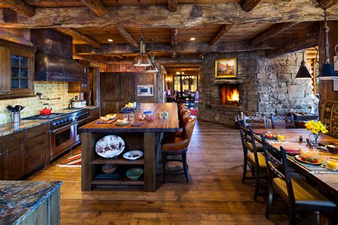 rustic home kitchen design spectacular rustic kitchen island decorating ideas gallery