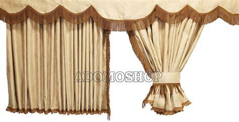 gardinen beige braun adomo lkw shop volvo gardinen beige braun lkw zubeh 246 r