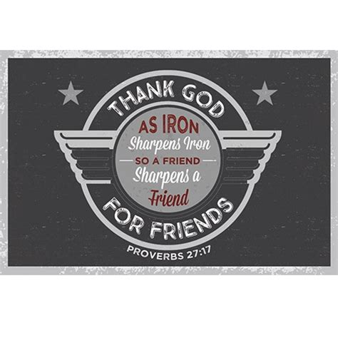 pkg 50 christian message cards pass it on variety pack pkg 25 thank god for friends as iron sharpens iron