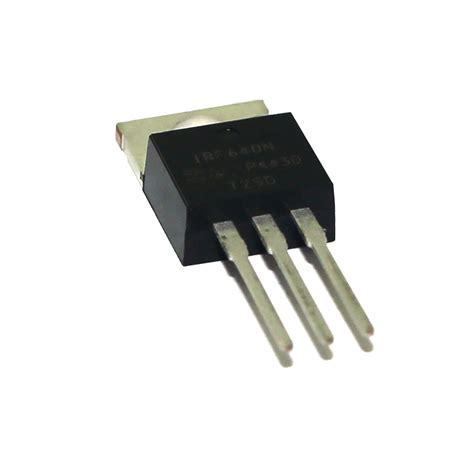 transistor irf 640 transistor irf 640 19n20c eletrope 231 as comercial eletr 244 nica ltda