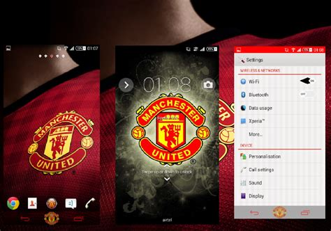 manchester united themes download for mobile new 2015 download new manchester united themes for your