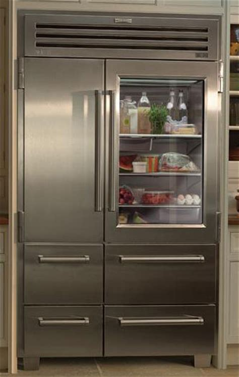 clear glass door refrigerator refrigerator with clear front door vignette design