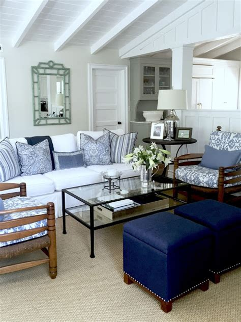 classic casual home blue and white casual cottage