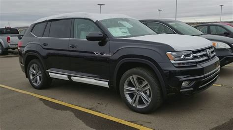volkswagen atlas black wheels 2018 vw atlas sel r line