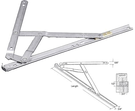 awning window mechanism truth hardware 4 bar egress stainless steel casement window hinge