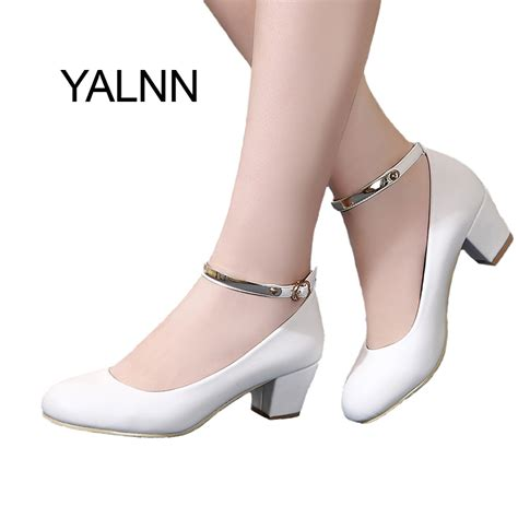 thick in high heels new 2016 women s high heels pumps thick