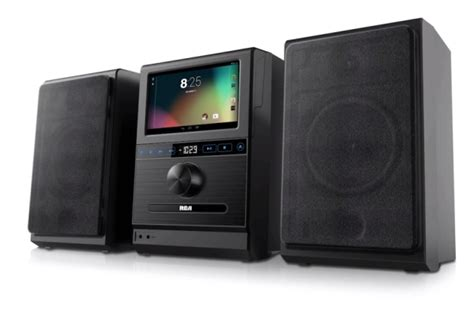 android stereo rca system is a stereo powered by an android tablet liliputing