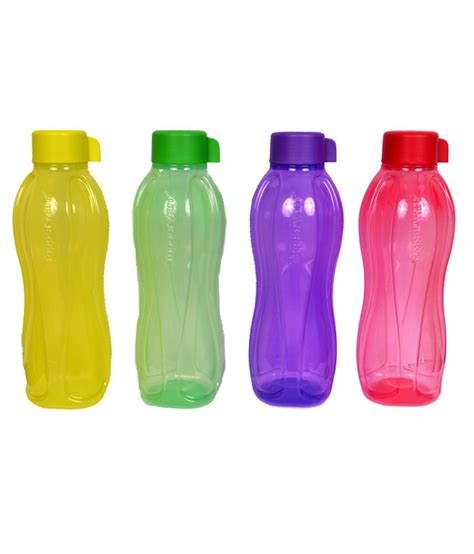 Flask Tupperware tupperware water bottle 1 ltr set of 4 buy tupperware