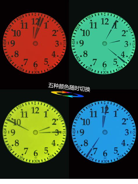 projection wall clock projector ceiling clock analog