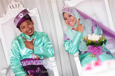 Baju Nikah Green Mint simple but by cik puan tqah review baju reception mint green lavender