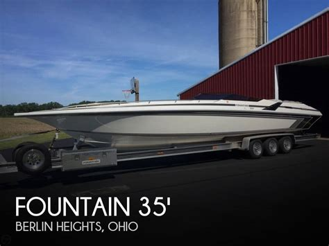 fountain boats for sale ohio sold fountain lightning 33 boat in berlin heights oh