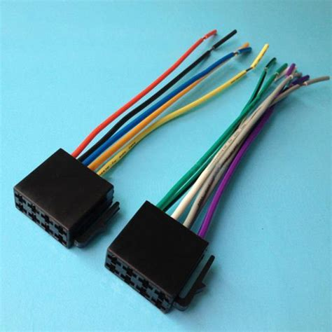 universal car stereo wiring harness wiring diagram with