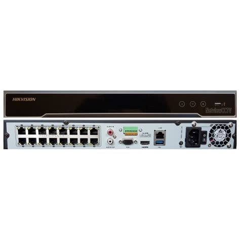 Nvr 16chanel Hikvision Ds 7616ni K2 16p Poe netview cctv hikvision ds 7616ni k2 16p 16 channel 4k nvr