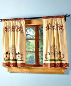 Primitive Country Kitchen Curtains Primitive Willow Window Tier Curtain Set Country Rustic Kitchen Home Decor Ebay
