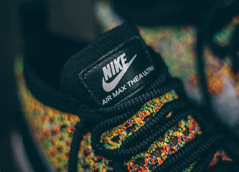rainbow lava l multicolor nike air max thea ultra flyknit rainbow multicolor