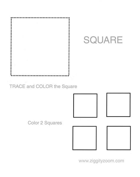 printable square shapes square worksheets worksheets releaseboard free printable