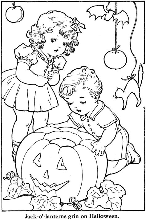 vintage coloring book pages retro coloring pages