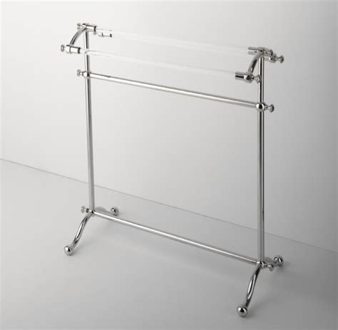 Design Ideas For Freestanding Towel Rack Etoile Freestanding Towel Rack Traditional Towel Racks Stands By Waterworks
