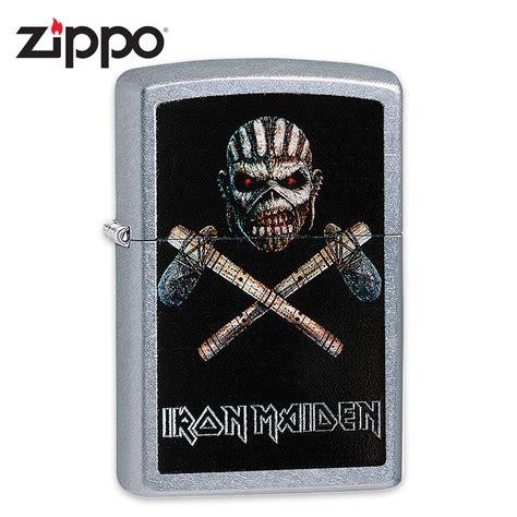 Korek Zippo Iron Maiden Limited iron maiden zippo lighter mayan eddie quot book of souls quot album chrome budk