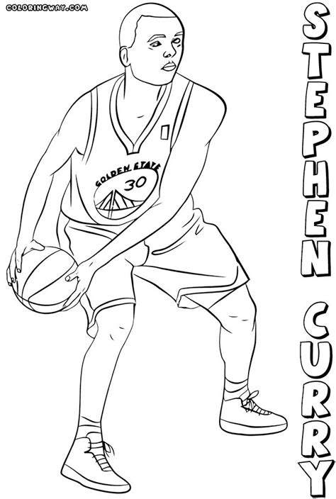 coloring pages nba warriors best 20 curry basketball ideas on pinterest stephen