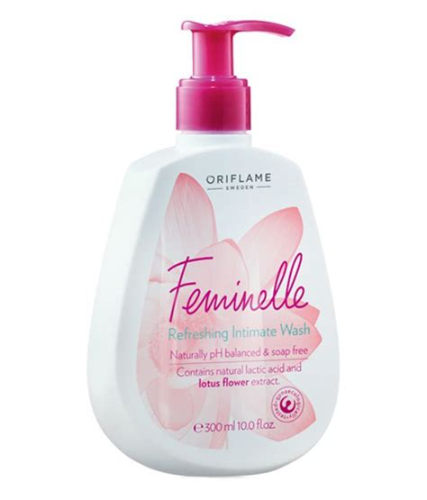 oriflame feminelle refreshing intimate wash 300ml buy