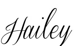 Hailey Name Coloring Pages Sketch Page sketch template