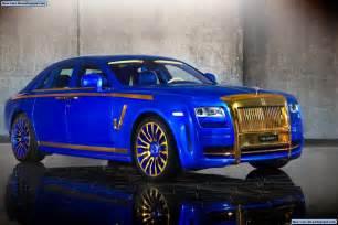 Gold Rolls Royce Ghost Mansory Rolls Royce Ghost Gold Edition Best Car