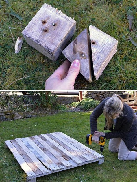 How To Make A Planter Out Of Pallets by Wheeled Pallet Planter Diy Lovely Greens