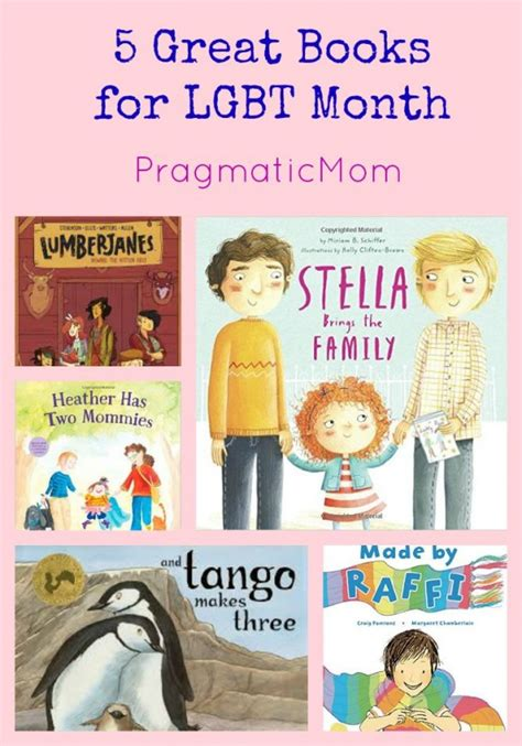 an lgbtq history educators guide books 5 great books for lgbt month pragmaticmom
