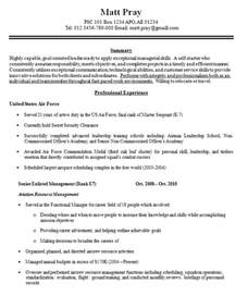 level resume that will successfully help you build your career