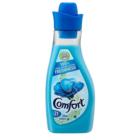 comfort shop comfort fabric conditioner blue skies 750ml fabric softener