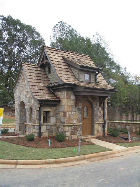 brick tiny house exterior colors and materials curb appeal pinterest