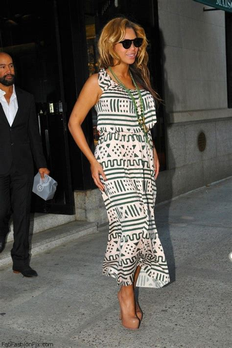 How Do You Rate Beyonces Casual Look by Style How Wear The Maxi Dress For
