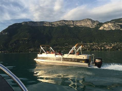 boat service lake annecy water taxi annecy tourist transport boat trip lac d