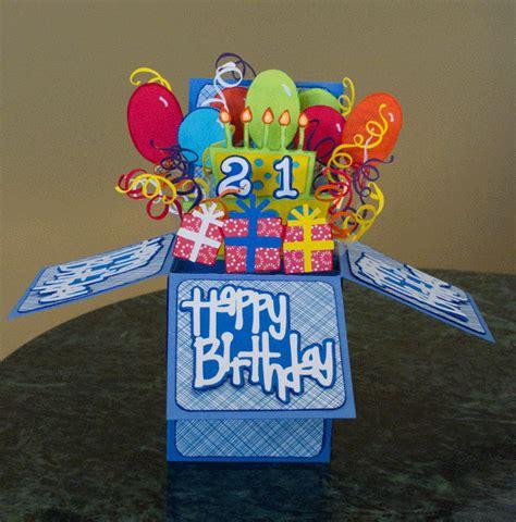 Birthday Card Box Croatian Crafter Birthday Card In A Box