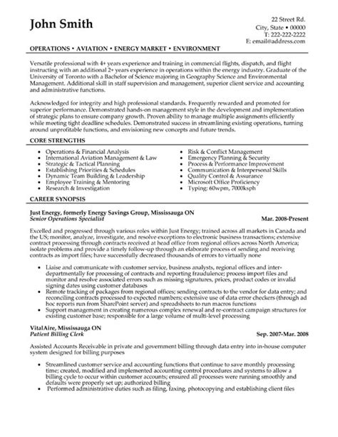 Top Environment Resume Templates Amp Samples