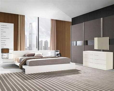 Contemporary Bedroom Sets Made In Italy Modern White Finish Bedroom Set Made In Italy 44b111w