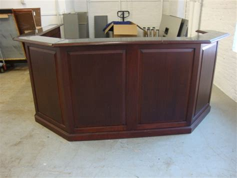 Traditional Reception Desk Conklin Office Furniture Used Office Furniture