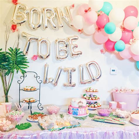 Jungle Theme Baby Shower by Jungle Theme Baby Shower Born To Be Safari