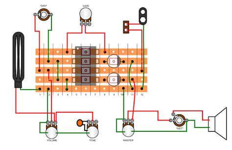 pignose guitar wiring diagram wiring diagram with