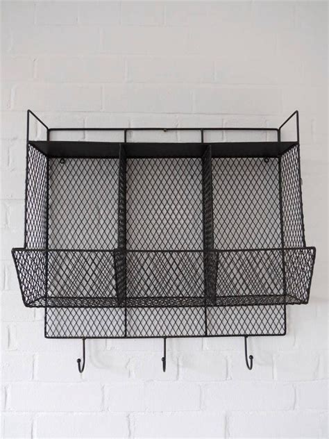 Kitchen Cabinet Wire Storage Racks Kitchen Storage Metal Wire Wall Rack Shelving Display Shelf Industrial Black Ebay